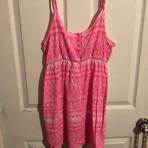 Size 12 pink dress